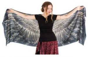 Exquisitely Soft Shovava Women Wings Scarf Silk for those who love birds 4