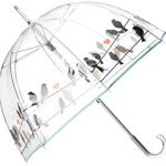 Huge strong birdcage Totes Pear Bubble Umbrella as gift